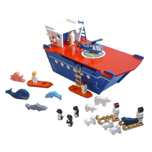 Polar Explorer wooden playset